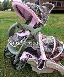 Stroller And Car Seat Mossy Oak Baby Pink Strollers Real
