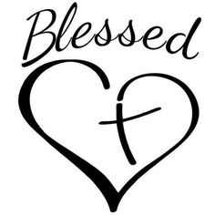 Items similar to Christian Cross Blessed Heart Vinyl Decal on Etsy - - Body Art Tattoos, I Tattoo, Tatoos, Faith Foot Tattoos, Tattoo Quotes, Ankle Tattoo, Silhouette Cameo Projects, Silhouette Design, Cricut Vinyl