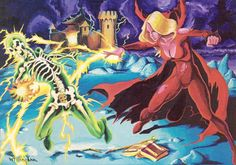 The Secret of BoneHill, AD&D module L1 by Lenard Lekofka, cover by Bill Willingham, TSR, 1981.
