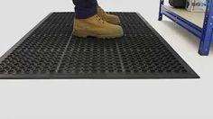 BiGDUG Non-Slip Anti-Fatigue Mats - YouTube