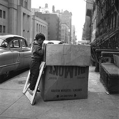 check out this amazing photographer, who was discovered only after her death http://vivianmaier.blogspot.com/