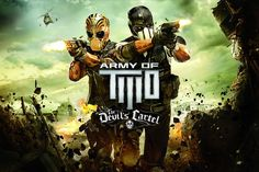 Confira o novo trailer do game Army of Two: The Devil's Cartel 'Action Blockbuster'