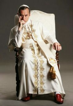 Pope Costume, Jude Low, Young Pope, New Pope, Hey Jude, Hollywood Men, Best Series, Tv Series, People