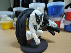 League of legends: Kindred clay by TheJumpingGenie on Etsy