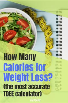 If you're trying to lose weight, you have probably thought about counting calories. But how do you know how many calories you should be eating? If you're trying to find the most accurate number, you need to calculate your TDEE. We found the most accurate TDEE calculator, as well as some other methods to figure out how to lose weight fast! #avocadu #weightlosscalculator #TDEEcalculator #howtocountcalories Best Weight Loss Foods, Fast Weight Loss Tips, Weight Loss Detox, Weight Loss For Women, Healthy Weight Loss, How To Lose Weight Fast, Fast Healthy Meals, Healthy Eating Tips, Eat Healthy