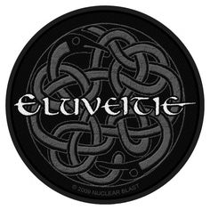 "Eluveitie Woven Patch ""Celtic Knot"""