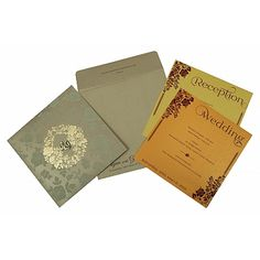 Give your wedding a special feel with our exclusive Khaki, Shimmer Paper, Indian Wedding Cards - Muslim Wedding Cards, Muslim Wedding Invitations, Foil Stamped Wedding Invitations, Indian Wedding Cards, Vintage Wedding Invitations, Printable Wedding Invitations, Wedding Invitation Wording, Wedding Stationery, Invitation Suite