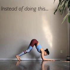 Gym Workout For Beginners, Gym Workout Videos, Yoga Moves, Pilates Yoga, Pilates Reformer, Yoga Handstand, Handstands, Gymnastics Workout, Easy Yoga Poses