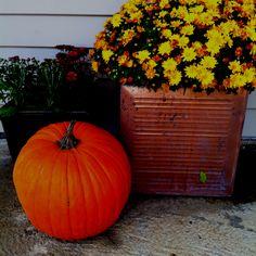 Fall Porch Decorations