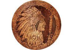Chief Sitting Bull Flemish Art