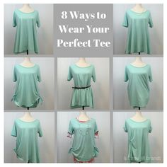 8 amazing ways to wear your LuLaRoe Perfect Tee!