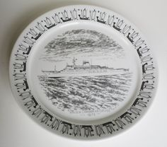 New to lingerawhile on Etsy: Norwegian M.S. Vistafjord Ship Plate -  Maiden Caribbean Cruise -1973 (24.00 USD)
