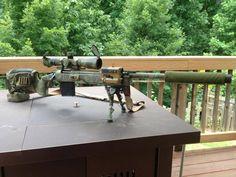 Nate's M-40 A5 sniper rifle, nicknamed Sierra.