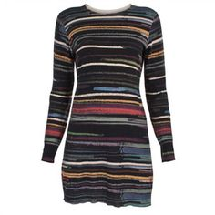 Paul Smith 'Marker Stripe' Print Dress $485