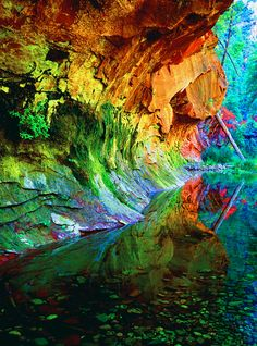 Caves ~ Sedona, AZ - Wow! Never knew these existed in Sedona! Want...want...want to go!