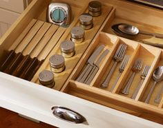 Clear 'em out and give the contents a neat-as-a-pin new home with these organizing and storage tips