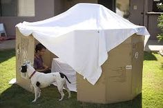 diy forts made from cardboard boxes - Google Search