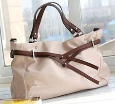 Belted Tote/Messenger Bag (3 Colors available) now only $38.95 w/free int'l shipping
