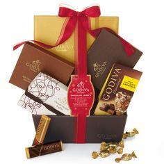 Chocolate Lover's Gift Basket #GODIVA ($150.00)