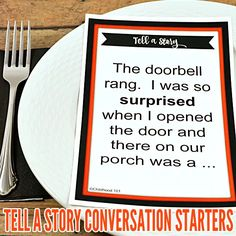 Tell a Story Family Mealtime Conversation Starters | Childhood101