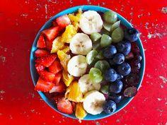 Linssinööri: Rakkautta ja ravintoaineita: Juhlista Pride-viikko... Fruit Salad, Vegan Recipes, Pride, Food, Fruit Salads, Vegane Rezepte, Essen, Meals, Yemek