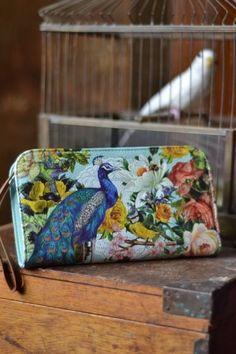 iota bristol : Wanderlust Peacock Clutch Purse