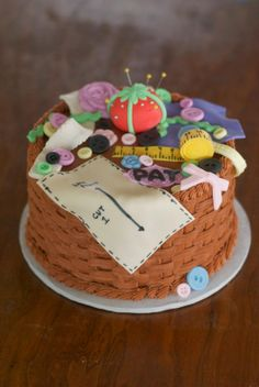 Sewing Notions Cake