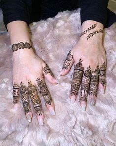 Mehndi or Henna for Fingers Designs Mehndi Fingers, Mehndi Designs For Fingers, Fingers Design, Finger Henna, Indian Mehndi Designs, Mehandi Designs, Mehndi Art, Henna Mehndi, Gel Nails