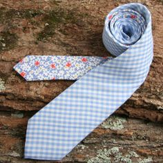 Love the gingham paired with a floral. I'm thinking of making Jason some ties.