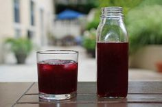 Mors is a refreshing berry drink, common in Russia, and made with whatever berries are in season-- from cranberries, to blueberries and black currants. More often than not, a shot of vodka is served with the drink.