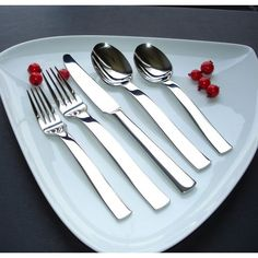 Wmf signum 20 piece cutlery set 18 10 stainless steel - Splendide flatware patterns ...