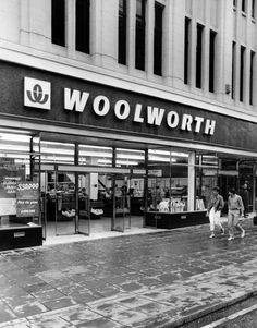 Woolworth Department Store, Northumberland Street, Newcastle, August 1984