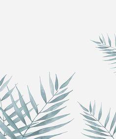 watercolour palms - adorn studio . trudygeorgina.com