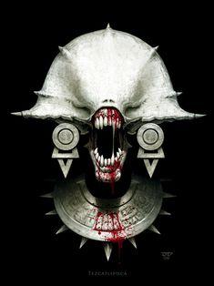 Tezcatlipoca by hunterkiller.deviantart.com on @deviantART