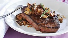 Steak with Mixed Mushroom Sauté. You can put together your own combination of preferred mushrooms or look for already-combined sampler packages at your local market (TRY: Chef's sampler from Mycopia, a California grower). And don't be afraid to break up this recipe: Try the sautéed side over top of pan-seared chicken, polenta or even pizza.