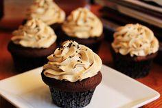 Chocolate Mocha Cupcakes with Espresso Buttercream