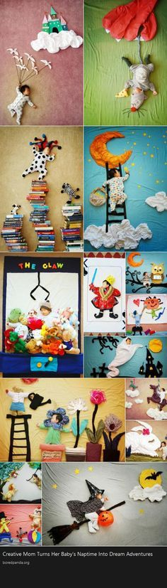 Creative Mom Turns Her Baby's Naptime Into Dream Adventures: Do babies dream when they sleep, or they simply rest peacefully? Queenie Liao, an artist and a mother of three boys, has shared the adventurous dramas that her child Wengenn dreams of during his sleep. Combining artistry and imagination with photography, Queenie has created captivating photos using plain cloths, stuffed animals, and other common household materials to create the background setting. Each photo uniquely portrays a…