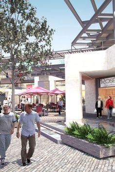 Via Majadas | DARCON Shopping Center, Shopping Mall, Commercial Center, Strip Mall, Hotel Concept, Mall Design, Restaurant Design, Urban Design, Curb Appeal