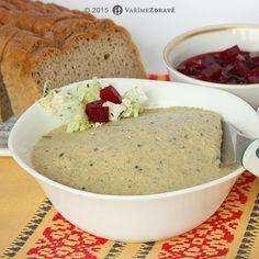 cizrnova-pomazanka-s-krenem-a-chia-seminky Gluten Free, Cooking, Recipes, Food, Glutenfree, Kitchen, Essen, Sin Gluten, Eten