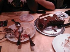 My Bday cake with friends 2013