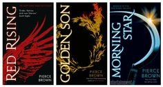 Red Rising trilogy by Pierce Brown.