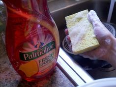 Washing dishes!!  #palmolivefreshsponge  #Influenster
