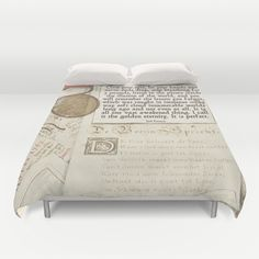 The Haunted life Duvet Cover by anipani
