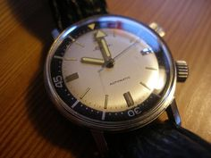 1969 Alpina 10 Diving Watch by Alpina Watches, via Flickr