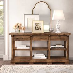 Kelly Clarkson Home Summit Wide 3 Drawer Poplar Wood Buffet Table Dining Room Buffet Table, Dining Room Sideboard, Kitchen Buffet, Wood Buffet, Dining Furniture, Buffet Tables, Dining Sets, House Furniture, Sideboard Decor