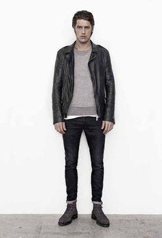 #suéter con chamarra negra, más carácter #ellos