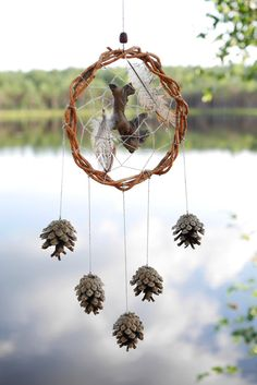 Traditional tribal forest dream catcher totem native от Ruscraft