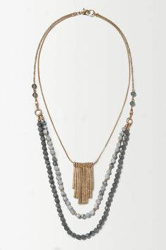 Nightfall Layer Necklace - anthropologie.eu