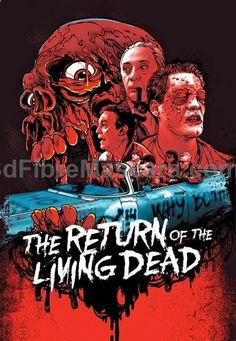 Illustrators create 80s homages to cult classic horror movies for DVD  Blu-ray re-releases - Digital Arts Return of the Living Dead #dogwalking #dogs #animals #outside #pets #petgifts #ilovemydog #loveanimals #petshop #dogsitter #beast #puppies #puppy #walkthedog #dogbirthday #pettoys #dogtoy #doglead #dogphotos #animalcare
