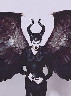 Maleficent <3 my favorite dark fairy